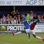 Record crowd see Town victory