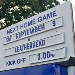 Leatherhead visit Essex