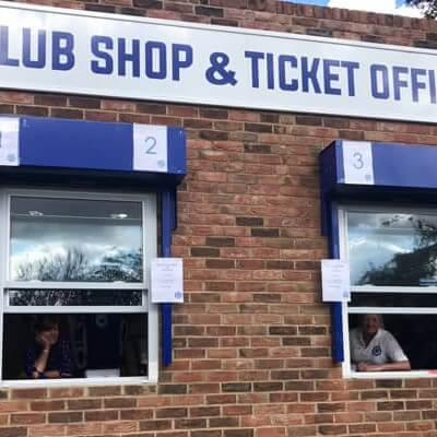 Online Ticket Shop is now open