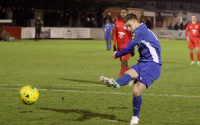 Blues return from Harrow with all 3 points