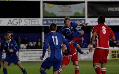 Town come from behind twice for a point
