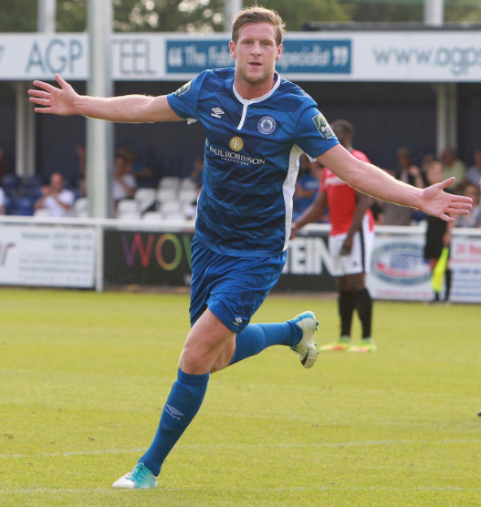 Late goal earns Town a point against Margate
