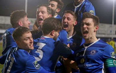 10-man Town in to Trophy Quarter-Finals