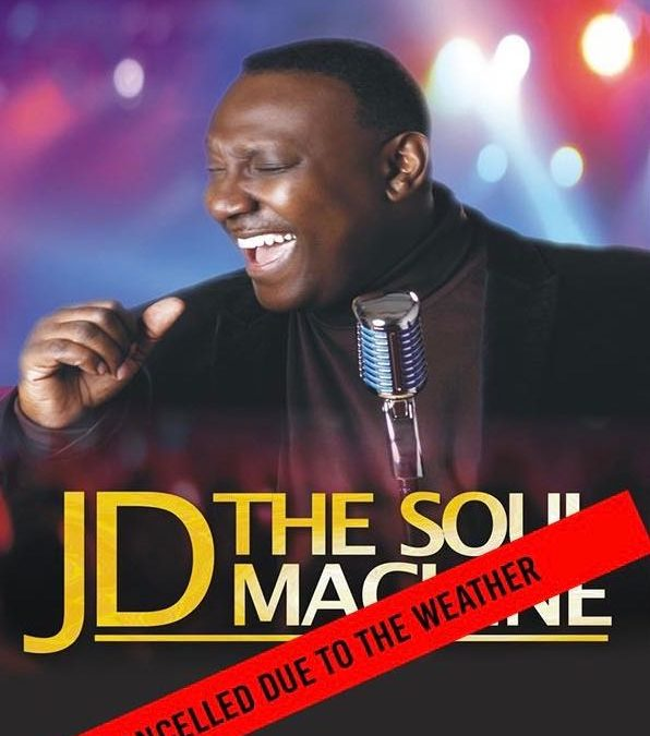 Soul night with jd cancelled