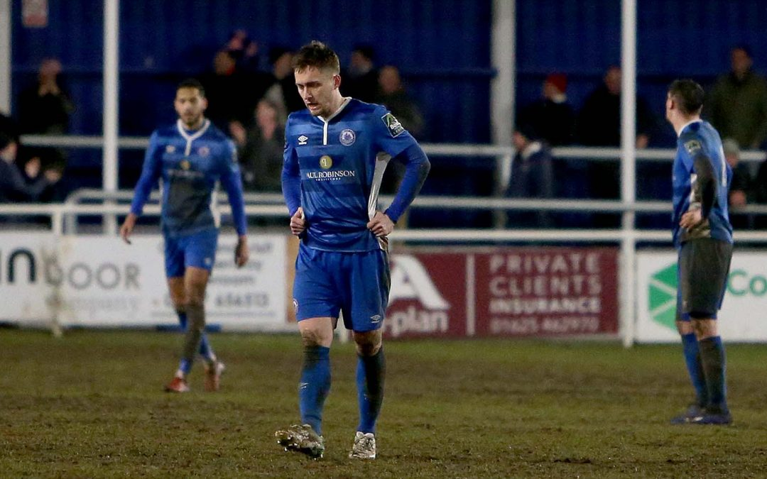 Blues fall to fourth league defeat in a row