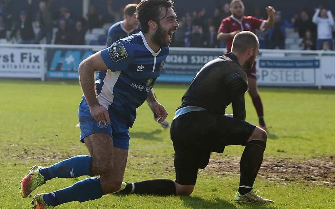 Blues come from 2 down to earn point