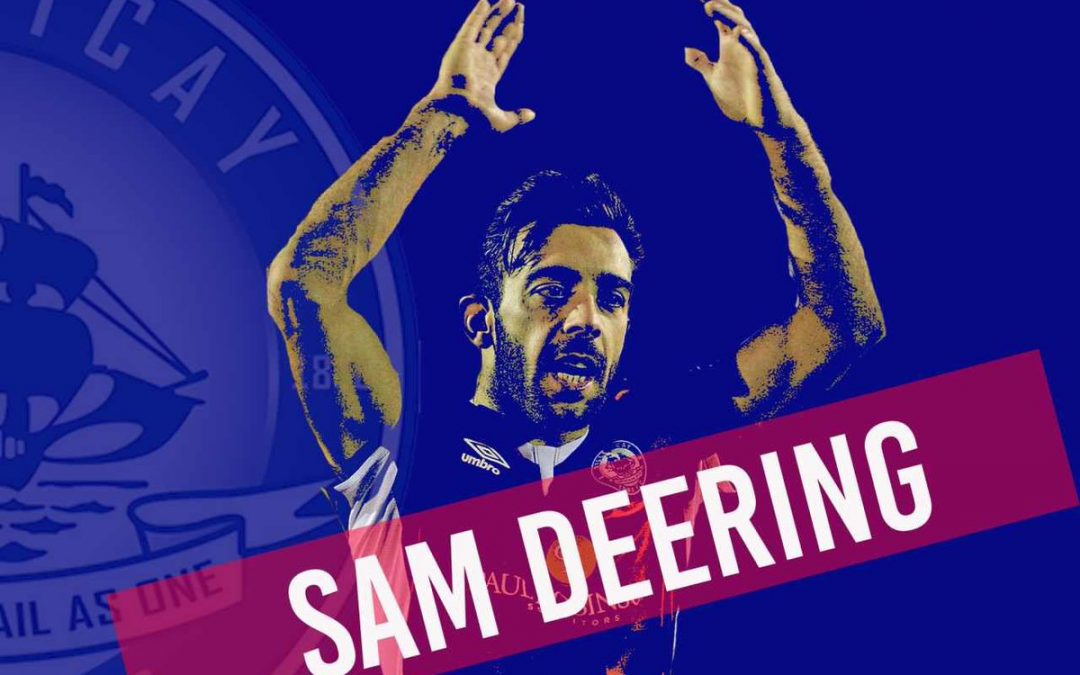 Sam Deering signs new contract