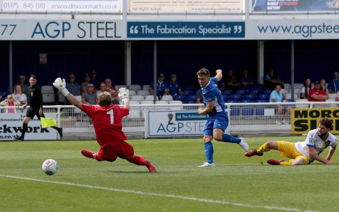 First half Jake goal gives Town win