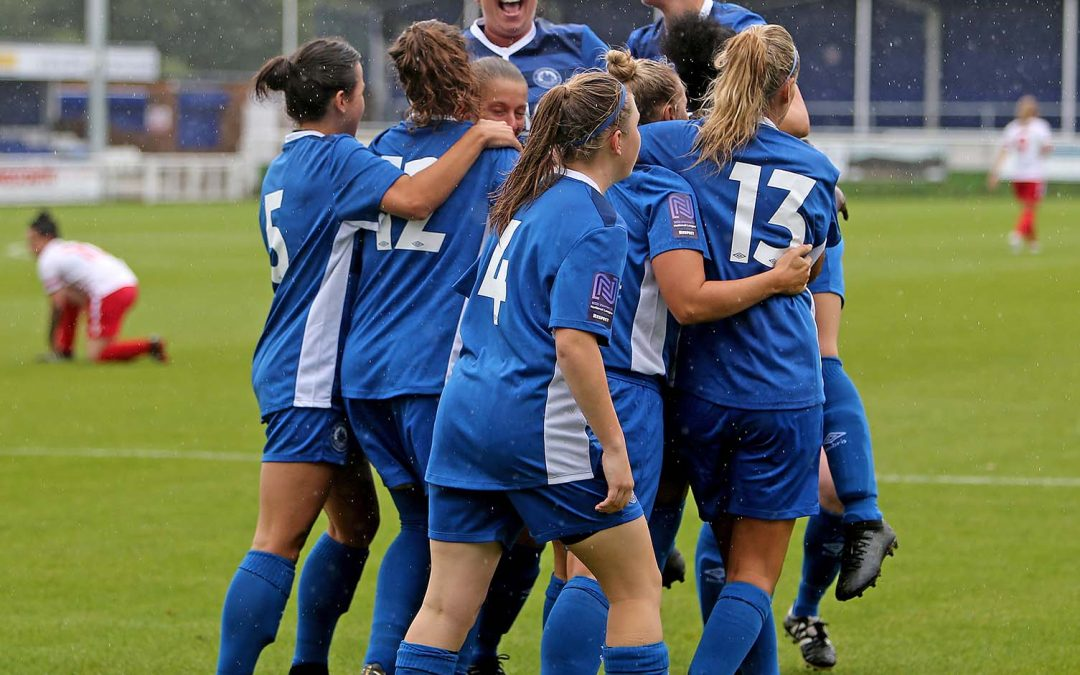 Ladies beat Stevenage 6-1