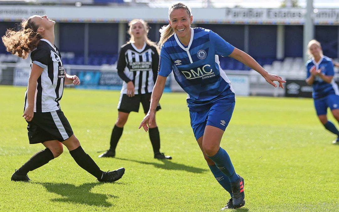 Ladies go through in FA Cup with big win