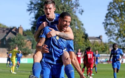 Blues victorious at Hampton