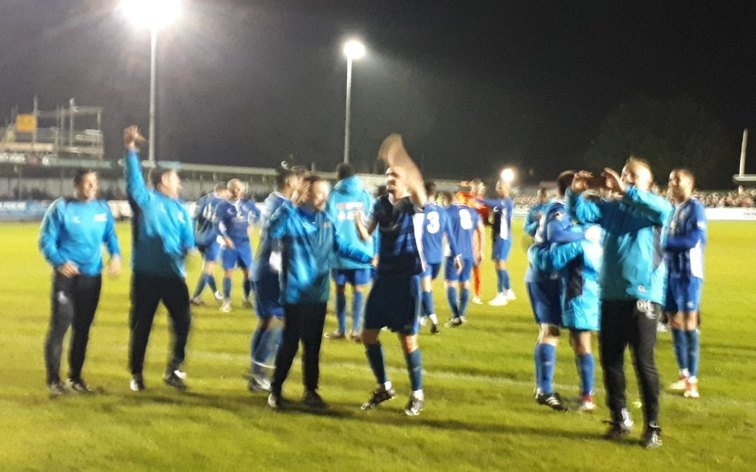 Blues go through in F.A. Cup