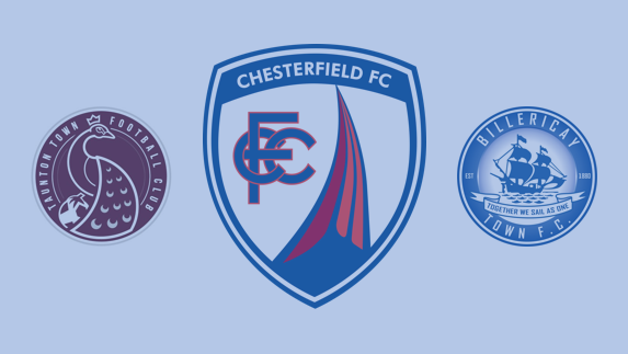 F.A. Cup First Round: Chesterfield v Taunton Town or Billericay Town