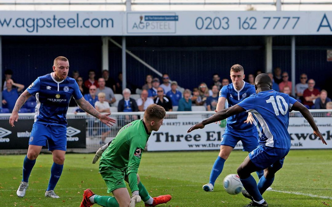 Billericay hold on for victory