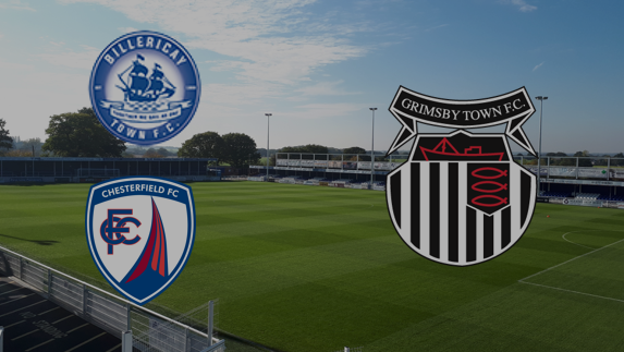 Billericay or Chesterfield will host Grimsby Town