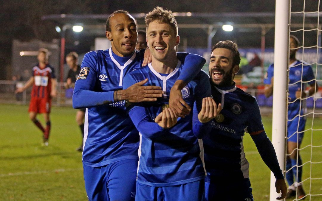 Jake goal gives Blues Trophy win