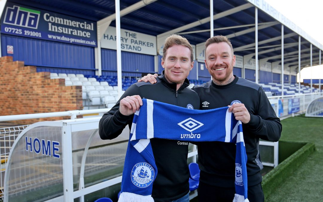 Billericay welcome new management team