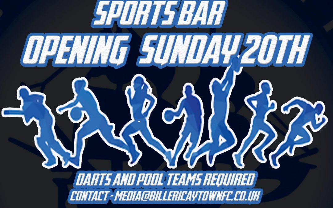 Billericay Town Sports Bar