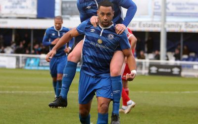 Second Half Goals Give Town Victory