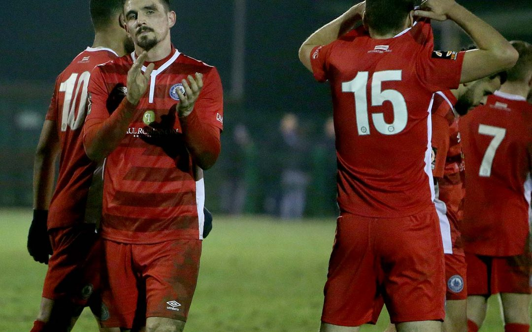 Billericay go out of Essex Senior Cup