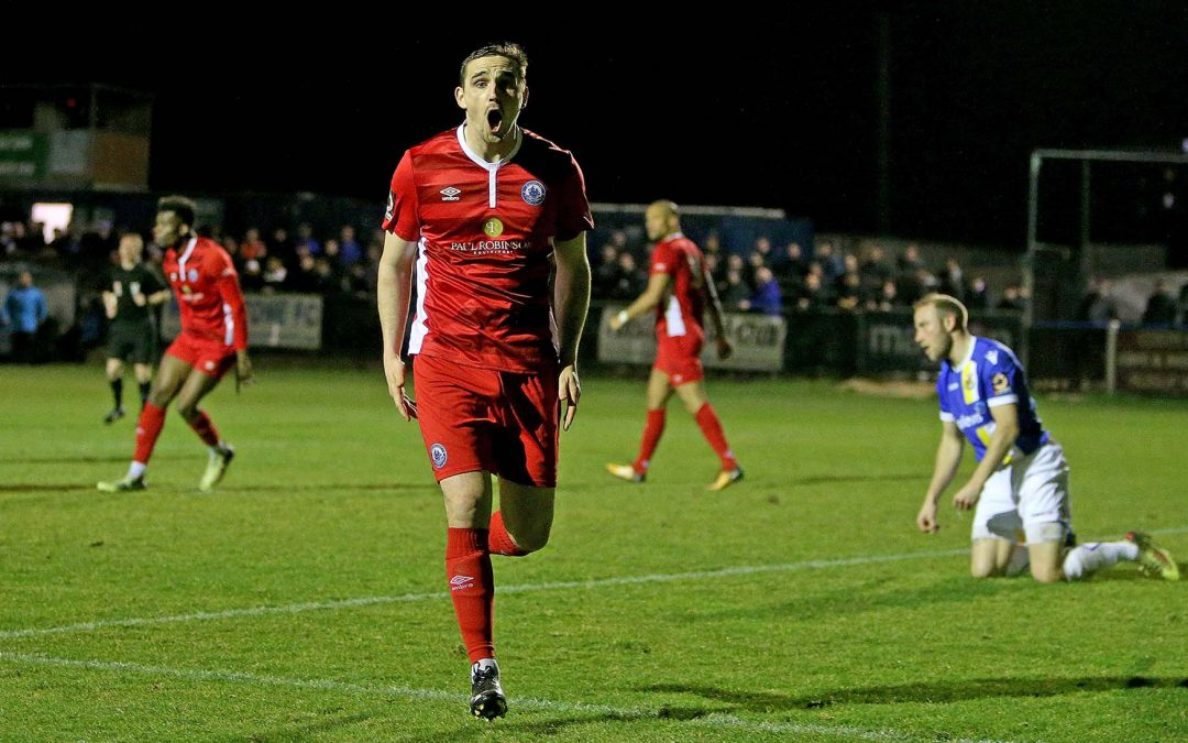 Waldren goal earns Town a point at Wealdstone