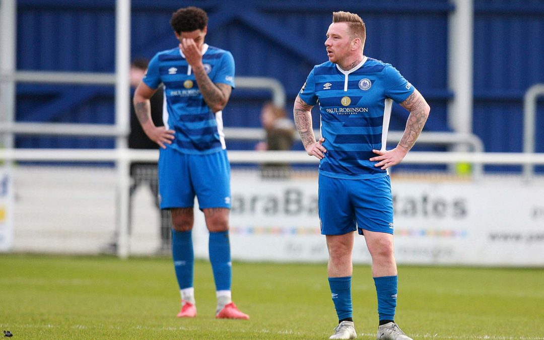 Town go down to fourth consecutive defeat