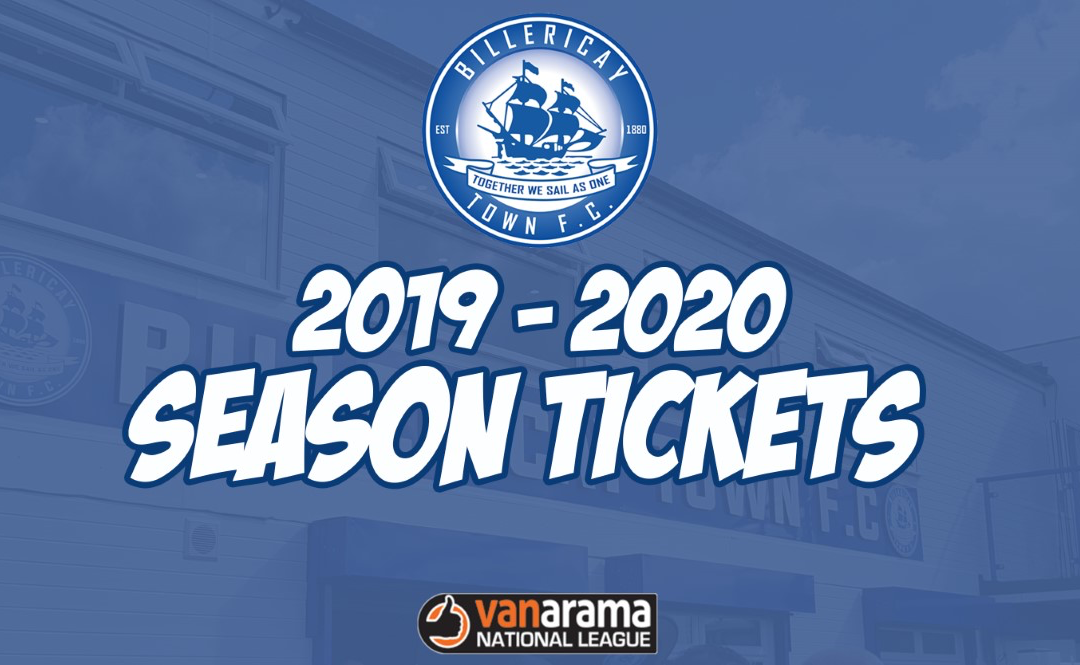 BILLERICAY TOWN 2019-2020 SEASON TICKETS