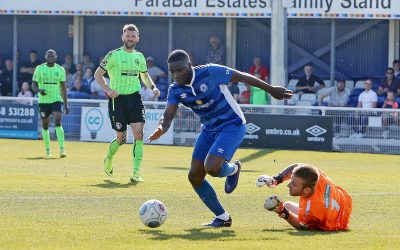 Moses goal sends Town back in to the play-offs