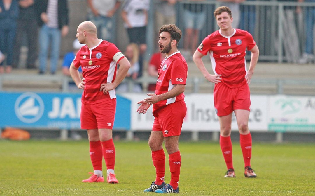 Two late goals see Town beaten