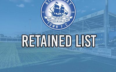 BLUES ANNOUNCE RETAINED LIST