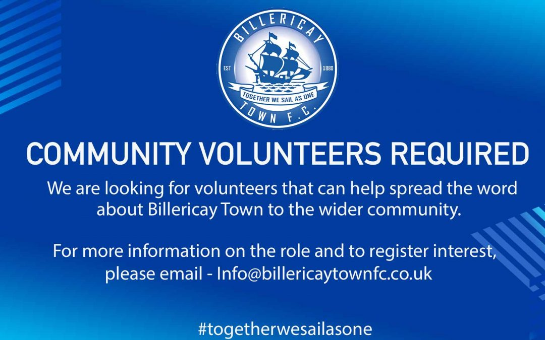 Help spread the word about Billericay Town!