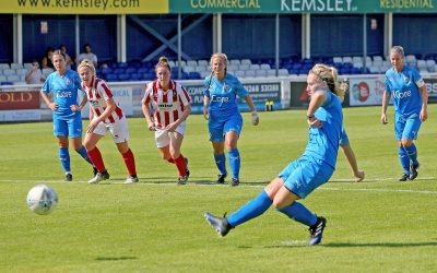 Ladies progress in League Cup