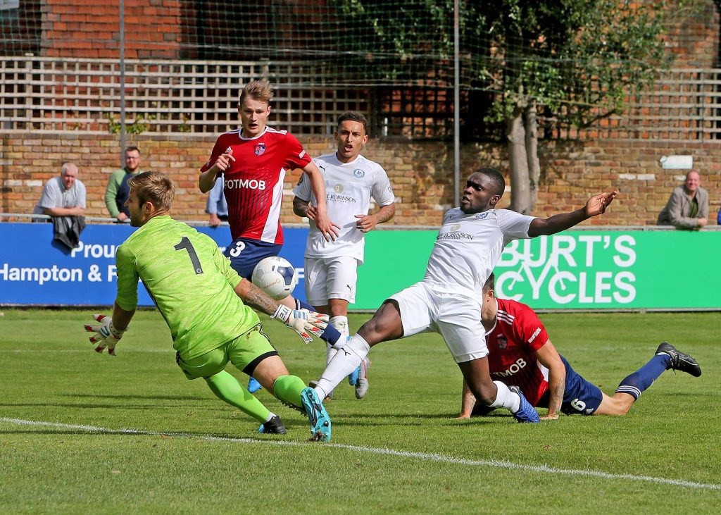 Blues leave Hampton with a share of the points - Billericay