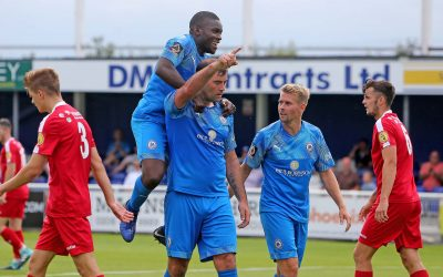 Blues hit three against Hungerford