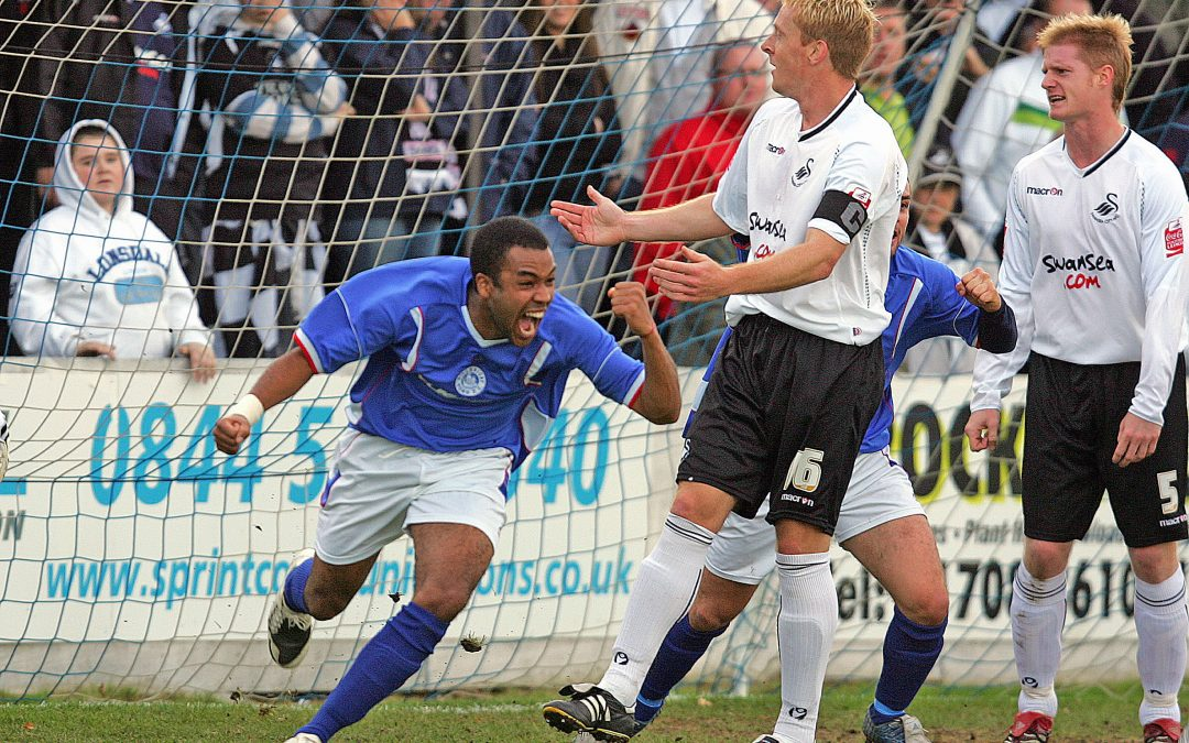 Billericay Town in the F.A. Cup