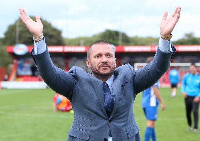Glenn Tamplin's time at Billericay Town has come to a end.