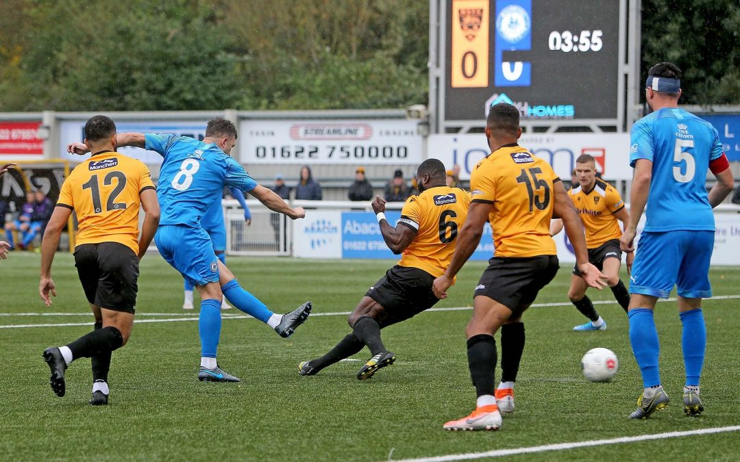 Blues beaten 2-1 at Maidstone