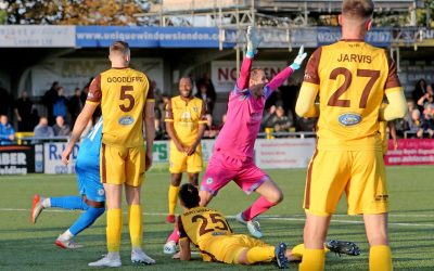 Alan Julian scores late Cup equaliser at Sutton