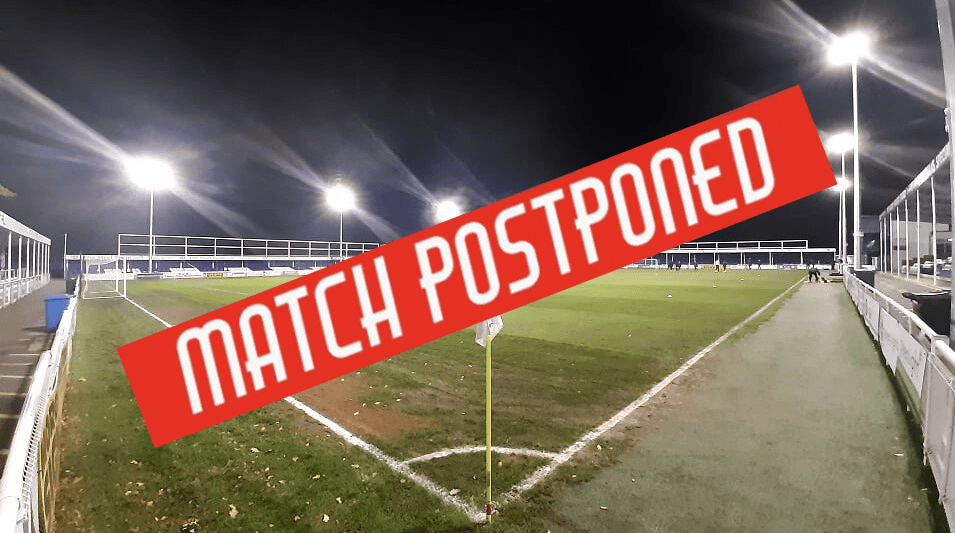 Wealdstone match postponed