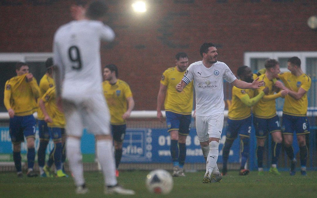 Blues fall to Boxing Day Derby Defeat