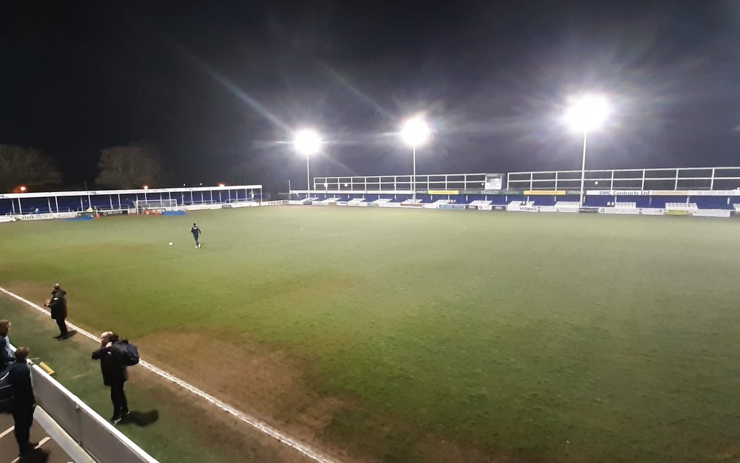 Essex Senior Cup Match is called off