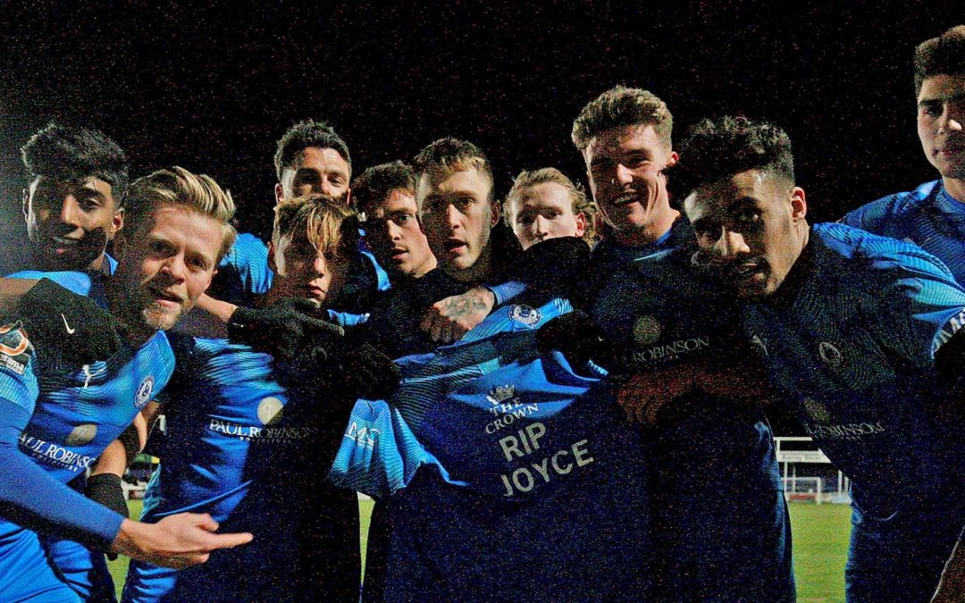 Joyce Symes remembered as Town reach Cup Final