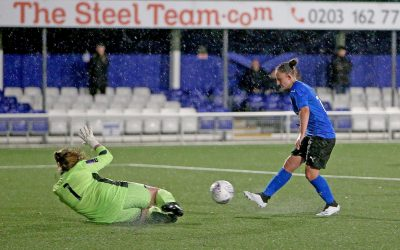 Seven goals scored as Women lose in the rain